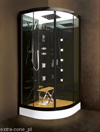 Kabina prysznicowa z sauną parową Enrico 100X100 EXTRA-ZONE