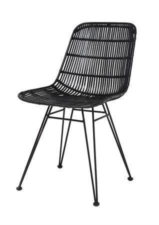 Ażurowe krzesło HK LIVING