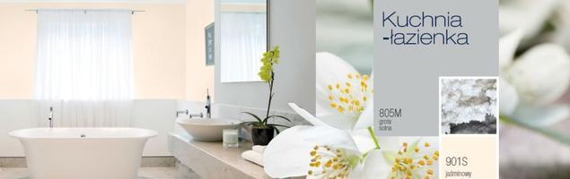 Wspomnienie wakacji. Kolory ścian do kuchni i łazienki