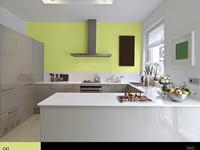 6 najlepszych aranżacji kuchni. Jaki wybrać kolor farby do ścian