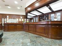 Recepcja hotelowa - aranżacja wnętrza hotelu
