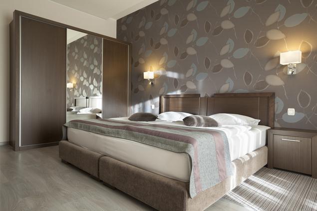 Zobacz Galerię Zdjęć Tapeta W Sypialni Pomysł Na Wnętrze