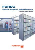 Katalog FOREG Systemy Regałów Bibliotecznych